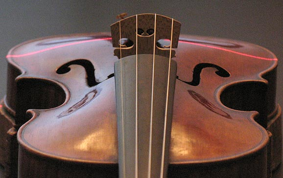 Amati with laser line