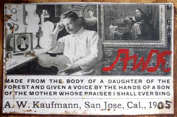 Kaufmann photo label