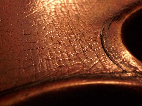 German violin texture