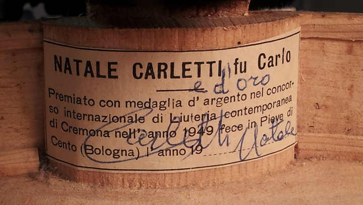 N Carletti Label