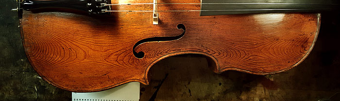 Wood Works–Another Slab Cut Cello Top
