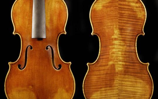 Antiqued Strad Model Violin
