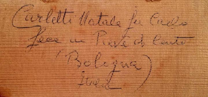 Carletti signature